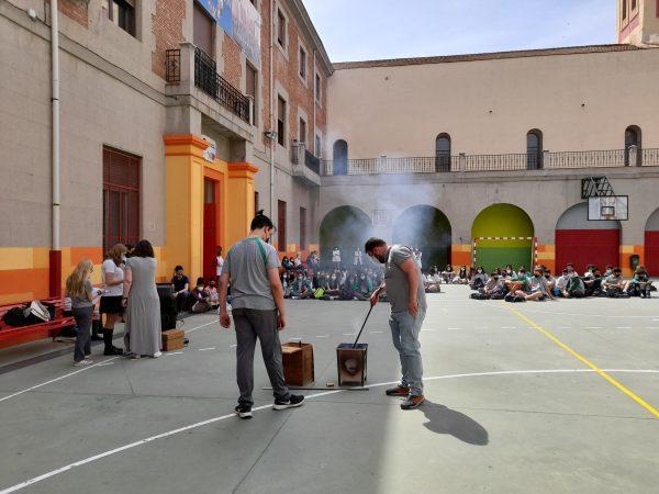 QUEMA DE CARTAS A MARÍA AUXILIADORA ESO 2021